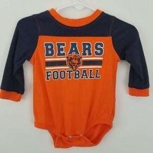 NFL Bears Football  Onsie 3/6 Months